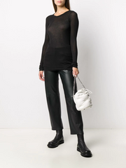RICK OWENS long-line style jumper