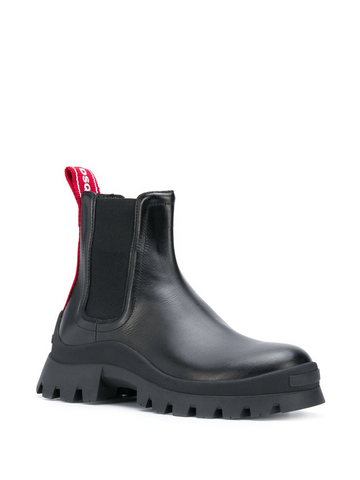DSQUARED2 leather chunky chelsea boot