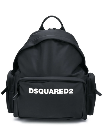 DSQAURED2 logo-print backpack