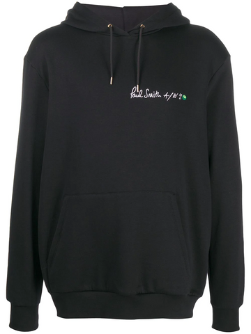 PAUL SMITH logo print oversized hoodie