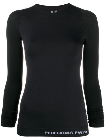 RICK OWENS fitted long sleeve top