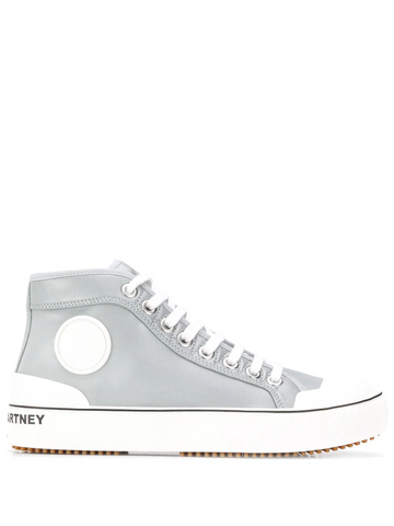 STELLA MCCARTNEY high-top lace-up sneakers