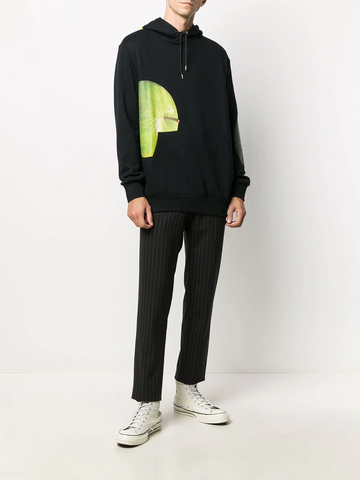 PAUL SMITH apple print hoodie