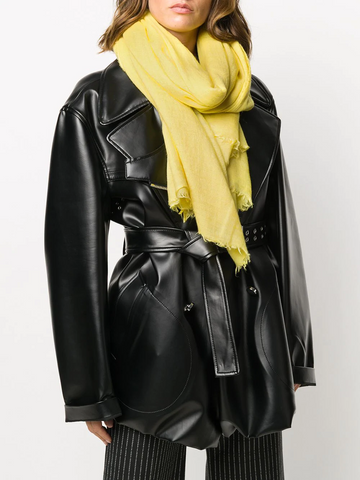 RICK OWENS plain statement scarf