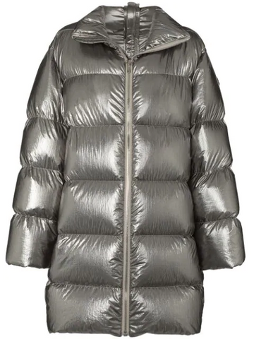 RICK OWENS by MONCLER  Cyclopic puffer coat