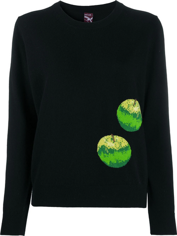 PAUL SMITH intarsia-knit apple jumper