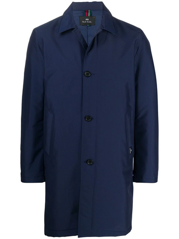 PAUL SMITH button rain coat