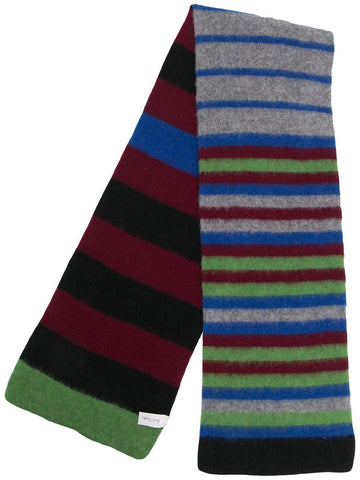 PAUL SMITH multicolour striped scarf