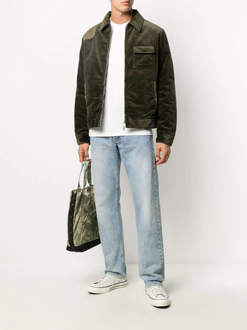GOLDEN GOOSE quilted lining corduroy jacket