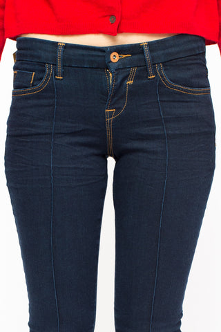 BRIAN DALES denim skinny dark blue
