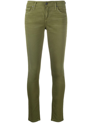 CITIZEN OF HUMANITY high rise skinny-cut trousers
