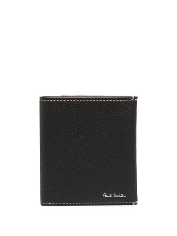 PAUL SMITH  black apple wallet
