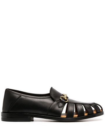 GUCCI cut-out loafers