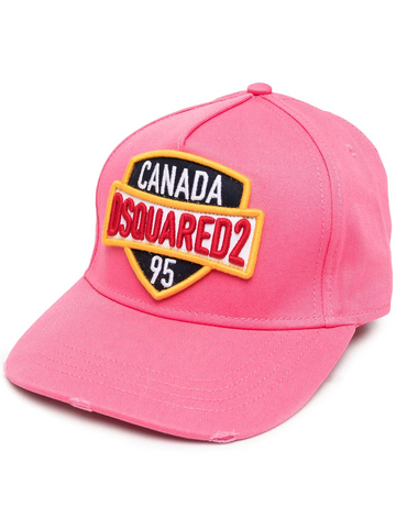 DSQAURED2 embroidered logo cap