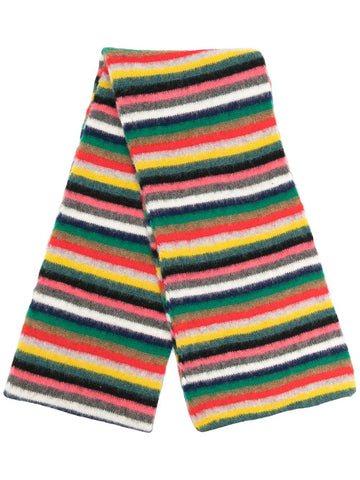 PAUL SMITH Artist stripe scarf