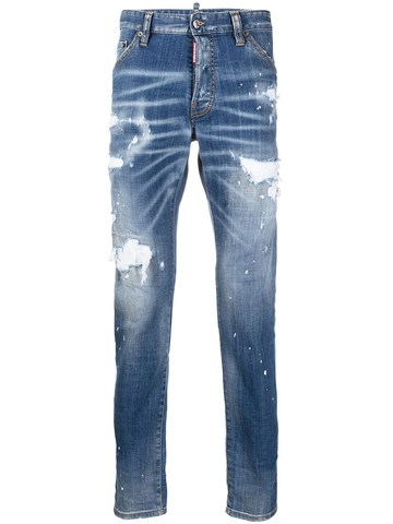 DSQUARED2 Icon distressed slim-fit jeans