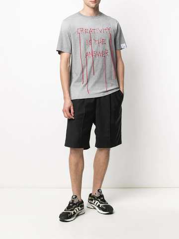 GOLDEN GOOSE embroidered cotton T-shirt