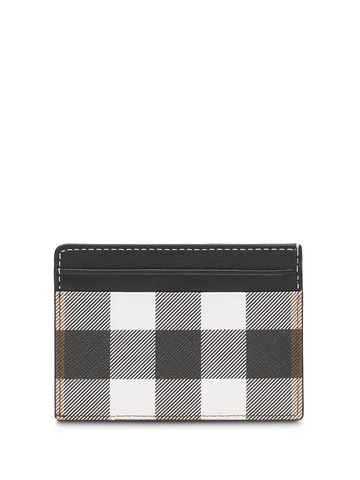 BURBERRY check print cardholder