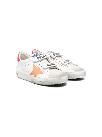 GOLDEN GOOSE Superstar touch strap sneakers