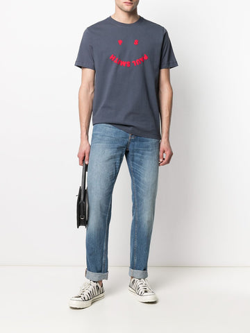 PAUL SMITH happy face logo T-shirt