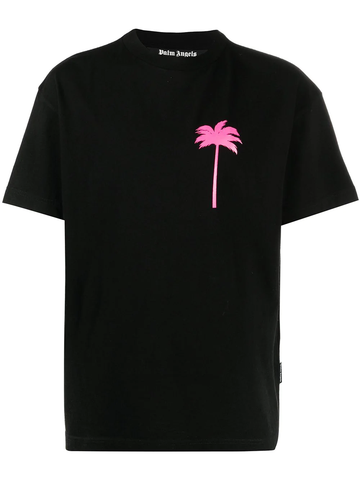 PALM ANGELS Palm Tree crew-neck T-shirt