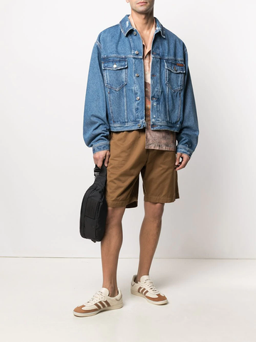 GOLDEN GOOSE buttoned denim jacket