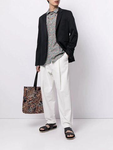 PAUL SMITH abstract print shirt