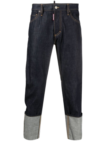DSQUARED2 turn-up cuff jeans