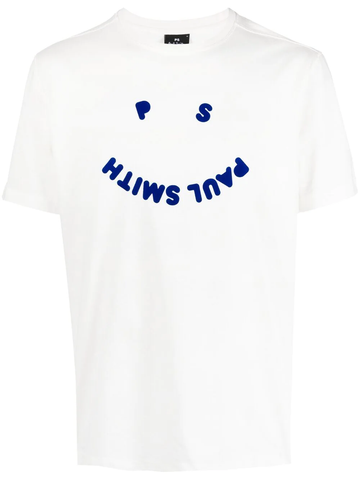 PAUL SMITH happy-face logo T-shirt
