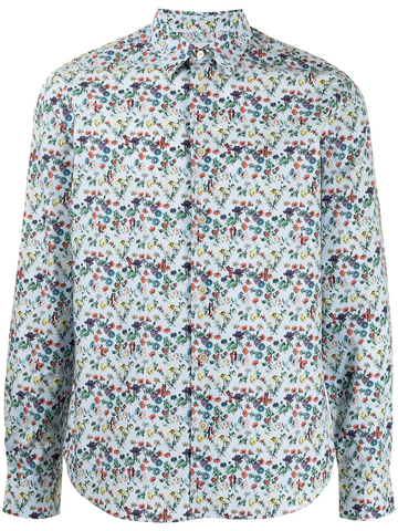 PAUL SMITH floral button-down shirt