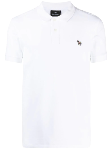 PAUL SMITH logo detail polo shirt