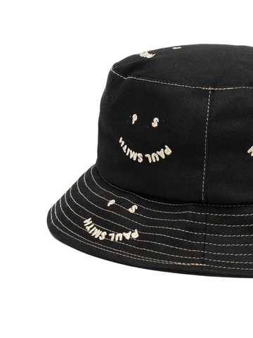 PAUL SMITH embroidered-logo bucket hat