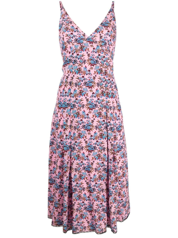 PAUL SMITH floral-print A-line dress