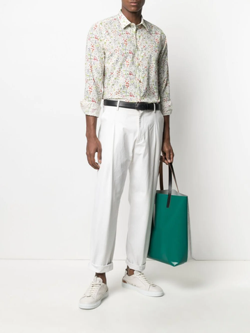 PAUL SMITH floral-print cotton shirt