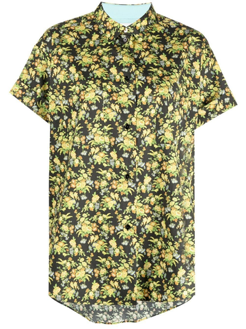 PAUL SMITH floral-print short-sleeved shirt