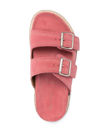 PAUL SMITH double-strap suede sandals