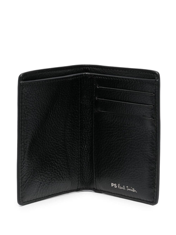PAUL SMITH engraved-logo leather wallet