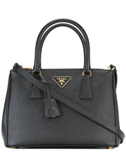 PRADA Bag leather black