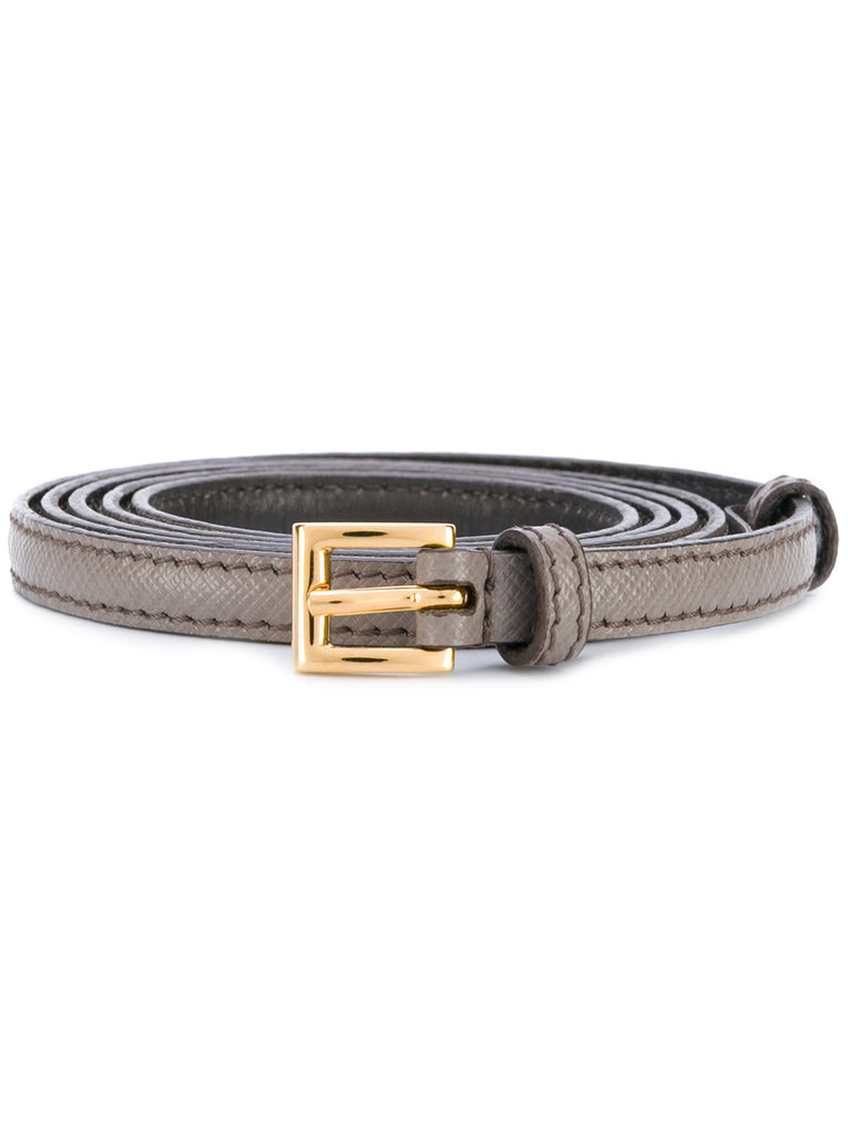 Prada Belt brown argilla