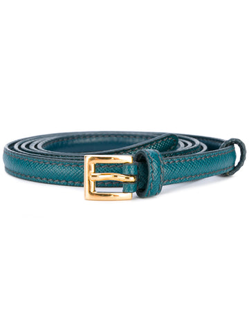 Prada belt emerald
