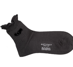 ANTIPAST knitted socks Charcoal