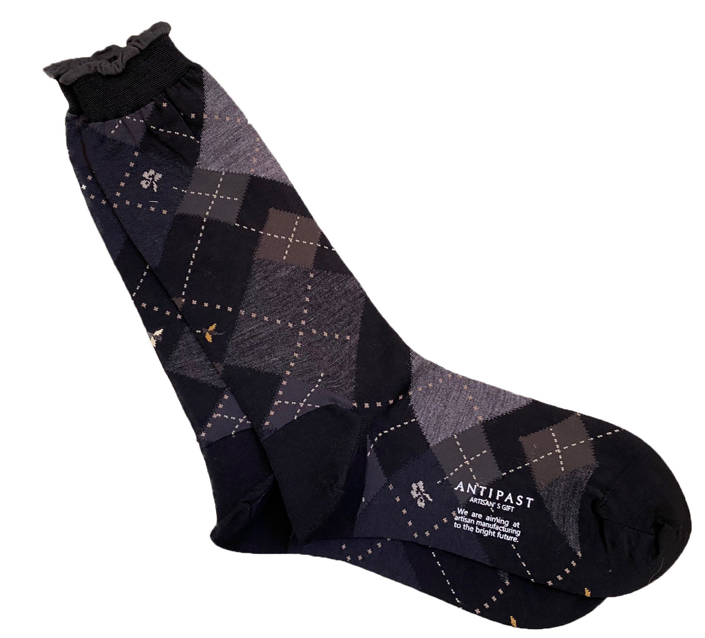 ANTIPAST knitted socks Black