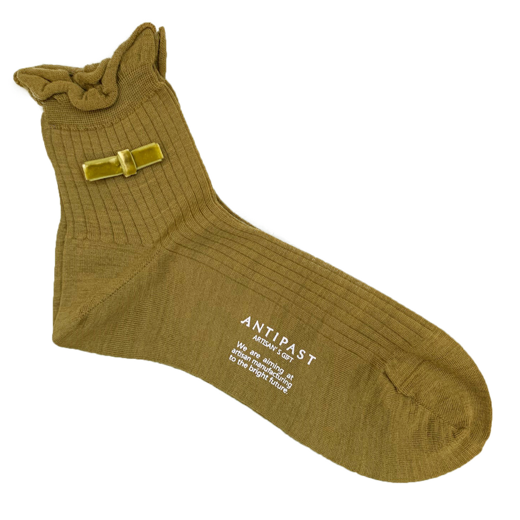 ANTIPAST knitted socks Khaki