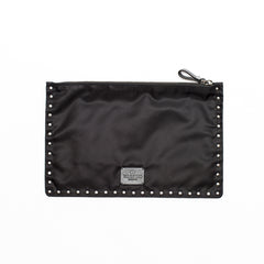 VALENTINO large flat pounch Black