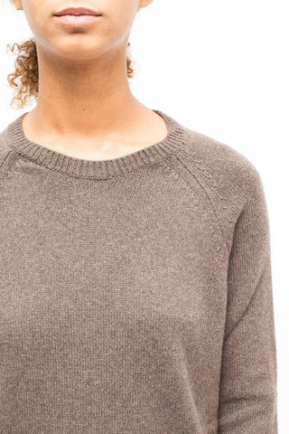 LA ROSE cashmere knit Brown