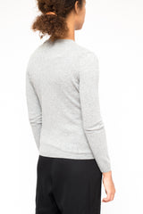 LA ROSE cashmere cardigan Grey