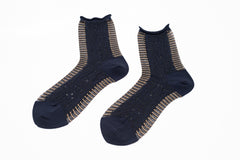 ANTIPAST socks navy beige