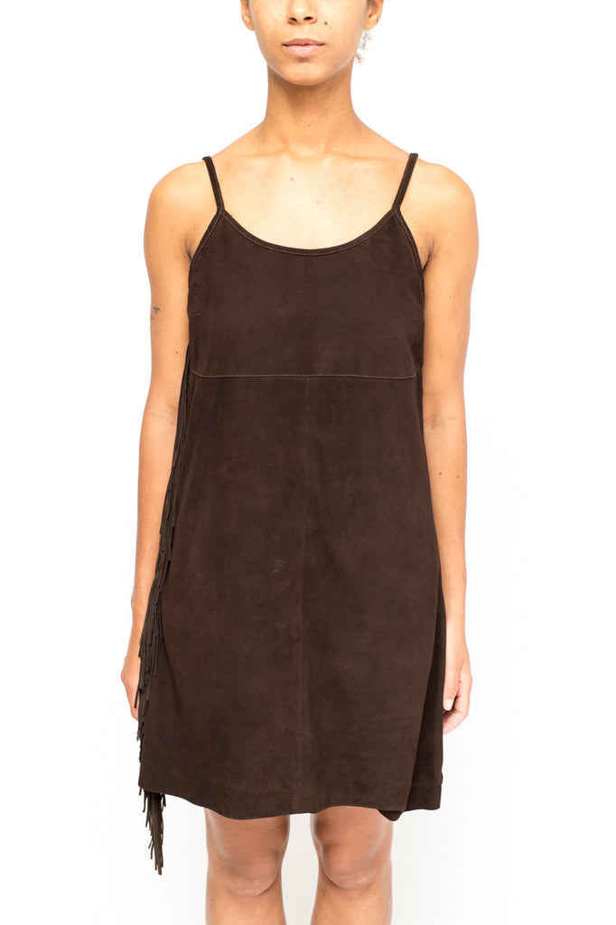 LA ROSE woman dress brown
