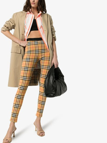 BURBERRY TROUSER YELLOW