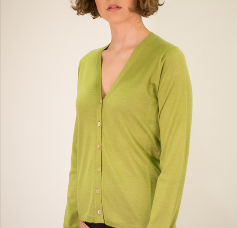 La ROSE cardigan green